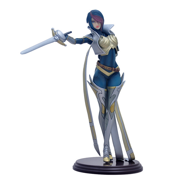 LOL League of Legends figure Action Game Fiona Model Collection Toy action-figure 3D Game Heros anime party decor Creative Gifts