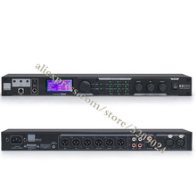 Pro KX 200 Karaoke Microphone Digital Effects Processor System Sound Controller System Equipment Effector with Software
