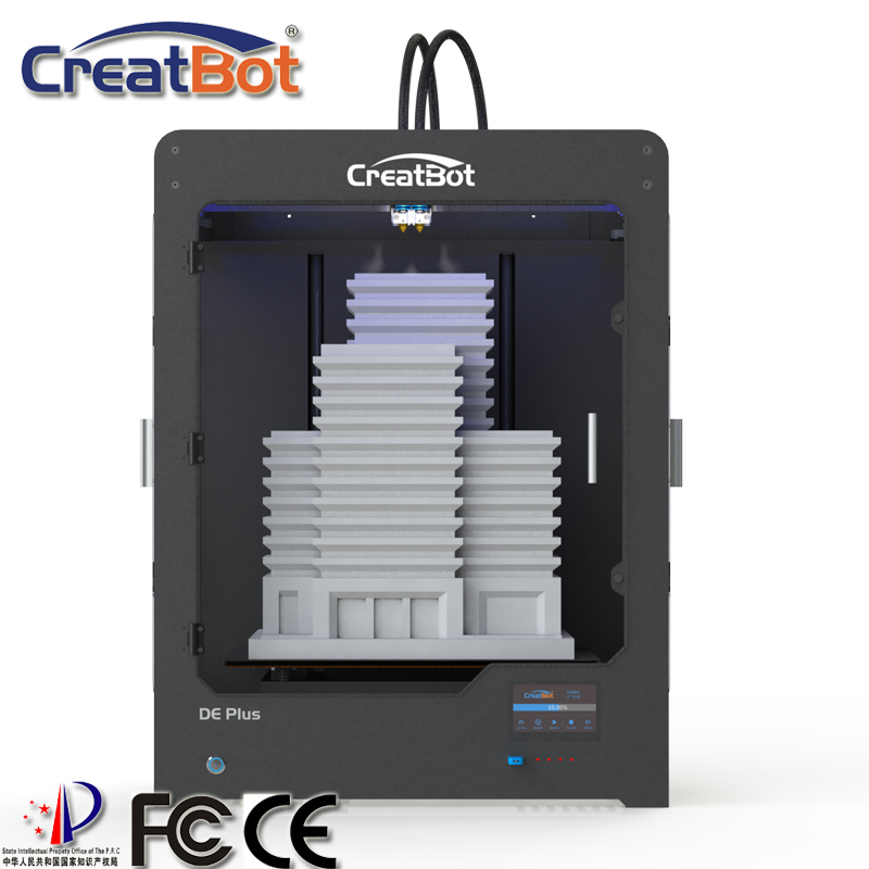best verkopende DE plus 02 3d-printer machine dropship dual extruders - Office-elektronica - Foto 2