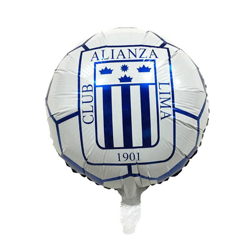 Envío gratuito 50 unids lote nuevo globo de fútbol de 18 pulgadas Globos de  helio 9120faac104fb