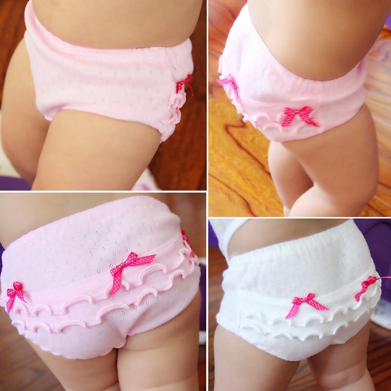 4pieces/lot cotton Children girls   Panties   Baby Underwear 2017 New Style underpanties kids briefs 1-3Years