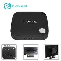 Vorke V1 Plus Tv Box Intel Apollo Lake J3455 4G RAM 64GB SSD Mini Pc Windows