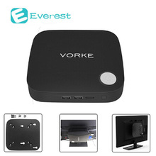 Vorke V1 Plus tv box Intel Apollo Lake J3455 4G RAM 64GB SSD mini pc windows 802.11ac WIFI Gigabit LAN Bluetooth4.2 HDMI smart