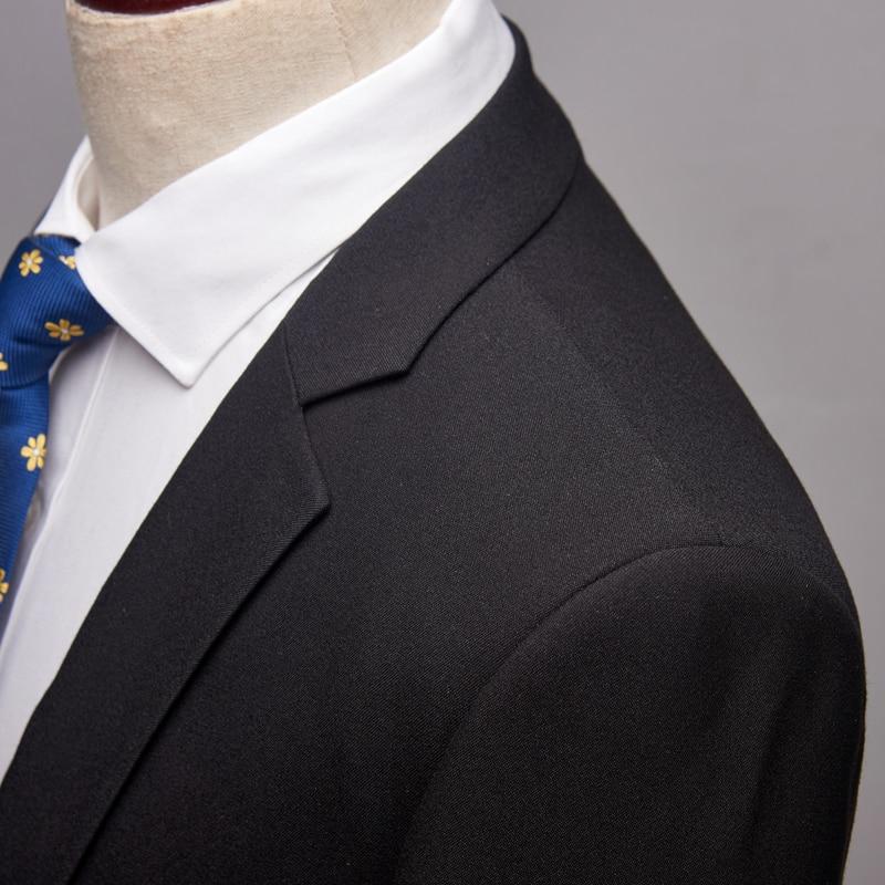 Pantalon S Bonne veste xxxl Noir Costumes Pour 2019 Nouveaux Décontracté Hommes Pantalon Mince D'affaires Avec Qualité Homme Classique Marié qZwqOH7x
