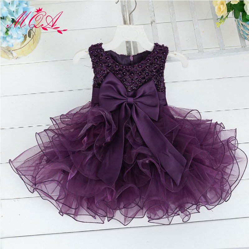 Toddler Baby Girl Baptism Dresses 1 Year Birthday Party Wear Tulle ...