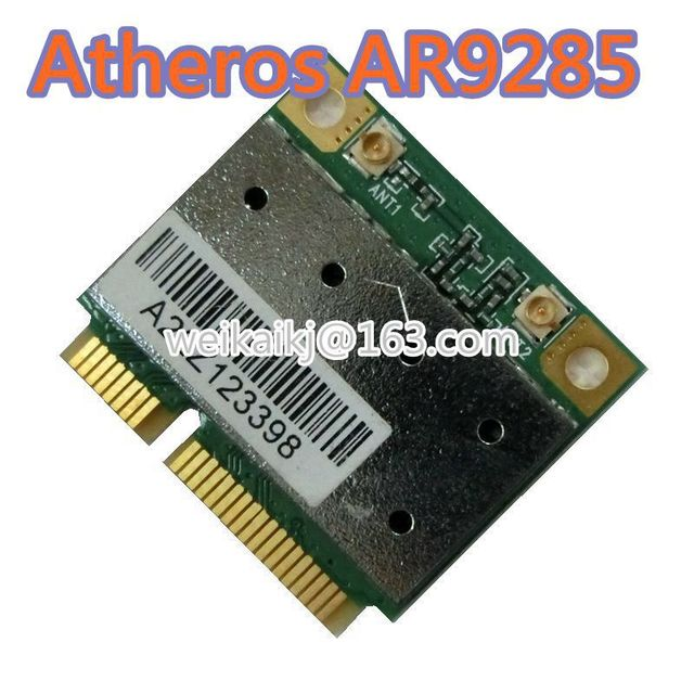 US $8 99 |Azure Wave Atheros Laptop Wireless AR9285 Board Half Mini PCI E  Card WIFI WLAN AR5B95 Wireless network card-in Network Cards from Computer  &