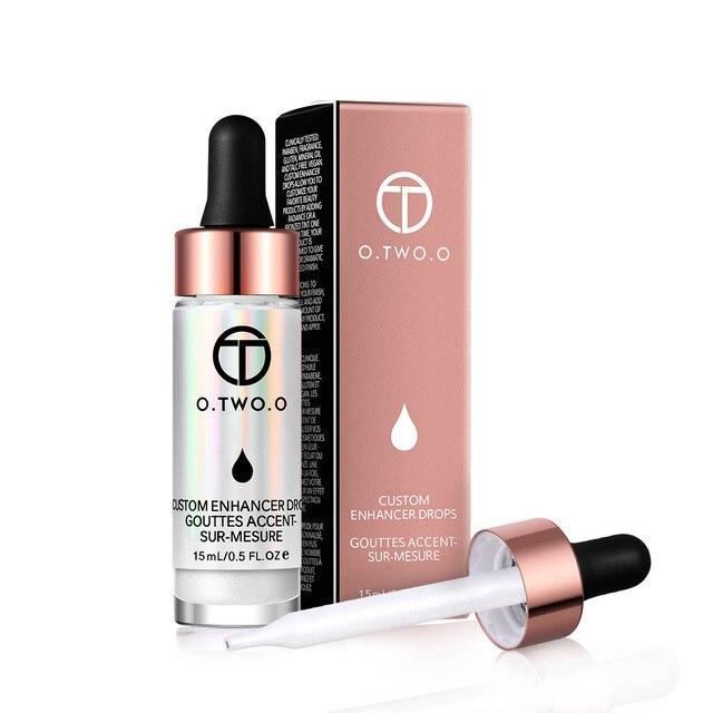 O. DEUX. O Liquide Surligneur Maquillage Amorce Shimmer Éclat Visage Ultra-concentré éclairante bronzage gouttes Visage Maquillage 2