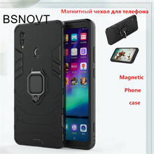 купить For Huawei Honor Note 10 Case TPU+ PC Magnetic Phone Holder Bumper Case For Huawei Honor Note 10 Cover For Honor Note 10 Case онлайн