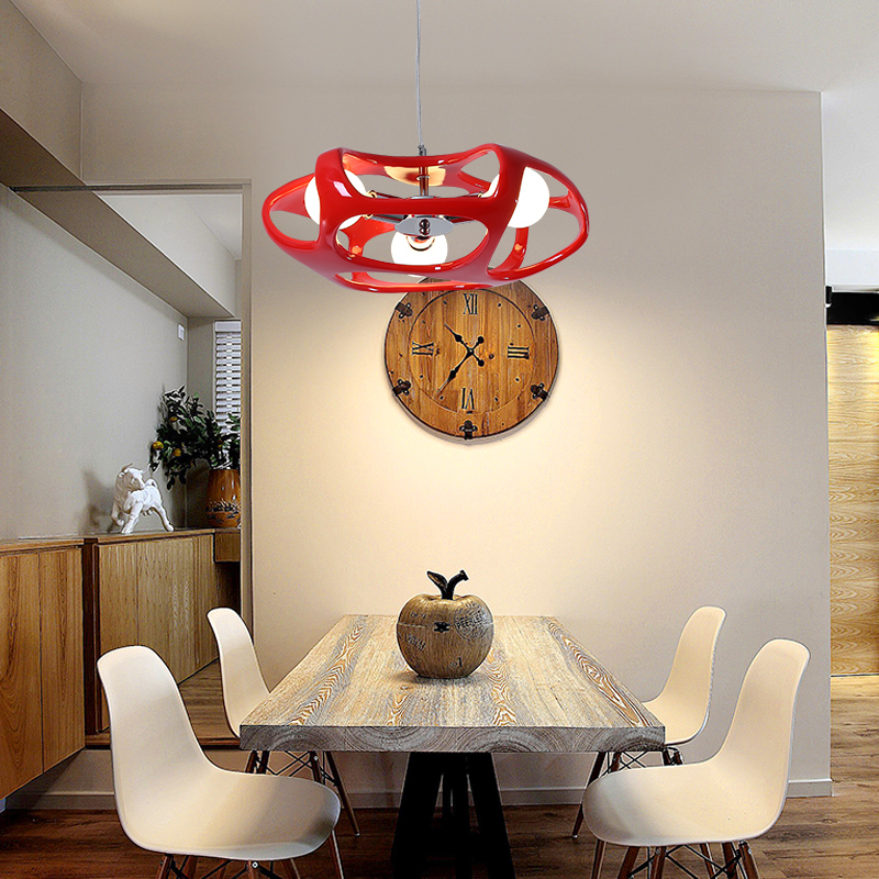 Nordic creative living room contracted modern individuality art bedroom restaurant clothing store pendant Light 2216 the nordic contracted and contemporary retro restaurant individuality creative glass droplight sitting room