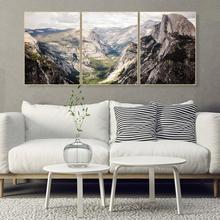 Laeacco Painting Calligraphy Abstract Canvas Mountain Wall Artworkwork Posters and Prints Home Living Room Decor Pictures