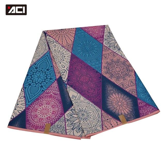 ACI Free Shipping ! Best Selling Ankara African Wax Print Fabric,Dutch Wax Fabric African Real Wax Prints Fabric Hollandais Wax
