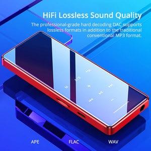 Image 2 - EARDECO מגע כפתור מסך אודיו Mp3 נגן Bluetooth Hifi נייד ווקמן מתכת מוסיקה נגני Mp 3 Hi Fi Flac Lossless