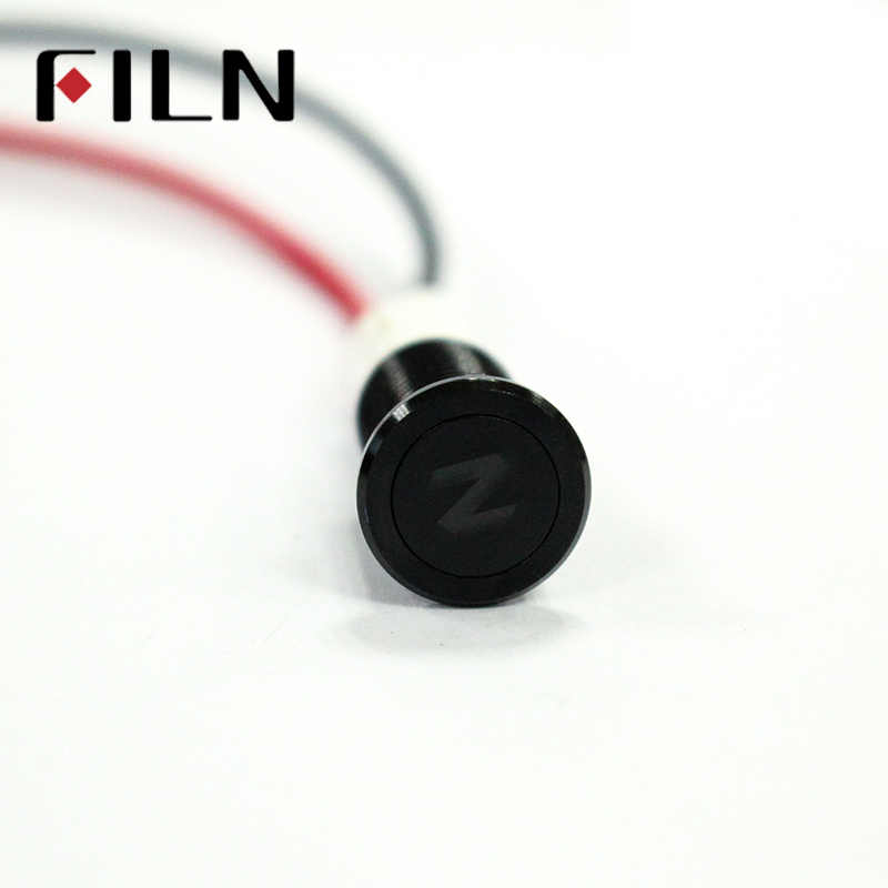 Lampe étanche FILN 12 V LED voiture bateau LED avertissement tableau de bord signaux lumineux Instrument pilote lumière 10mm
