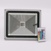 New Item RGB Controler LED Flood Light Outdoor Lighting COB LED Bulb 10w 20w 30w Led