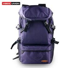 MAGIC UNION Large Travel Backpacks Women 16 inch Laptop Backpack for Men Teenager School Bag Male Mochila Travel Luggage Bag