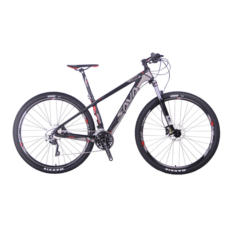 Carbon Fiber Bikes >> Sava Deck300 30 Speed Carbon Fiber T700 Mtb Mountain Bike 29 Ultralight Bicycle Cycle Shimano M6000 Derailleur Hydraulic Brake