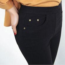 4cd0e86bef4 FSDKFAA 2018 Winter Plus Size 6XL Leggings Women Pants Black Punk Thick Jeggings  Fashion High Waist