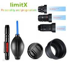 Бленда объектива/крышка/Ручка для очистки/воздушный насос для sony Alpha A6500 A6300 A6000 A5100 A5000 камера с E 16-50 мм OSS Объективы