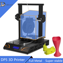 DMSCREATE DP5 3D printer kit easy assembly prusa I3 kits big printing size Auto-leveling Metal Frame with High Precision