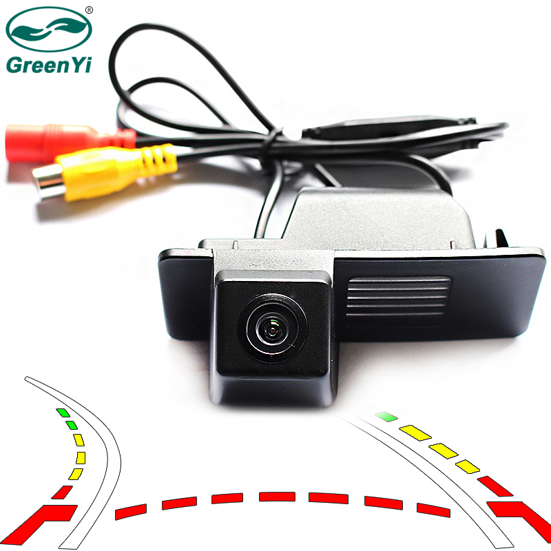 Intelligent Dynamic Trajectory Tracks Reverse Backup Camera For Chevrolet Aveo Trailblazer Cruze Wagon Opel Mokka Cadill 0
