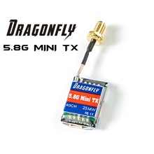 Dragonfly 5.8G 40CH Mini TX 25mw/200mw Introducing the new ultra light weight Dragonfly 5.8Ghz mini video transmitter 25mw 200mw