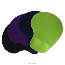 4 цвета удобный гель коврик для мыши анти-SliMemory Foam подставка под запястье