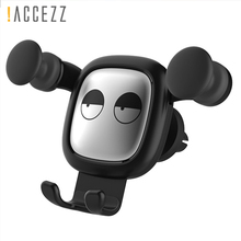 !ACCEZZ Universal Car Phone Holder For iPhone XS MAX Samsung S10 Xiaomi Redmi Note 7 Support Smartphone Gravity Sensor Bracket