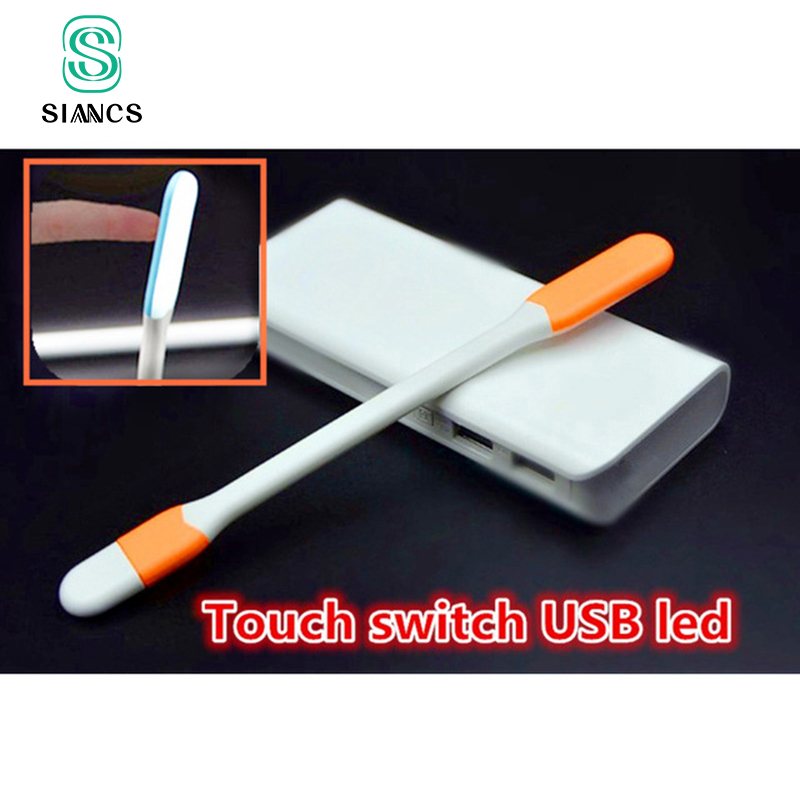 USB Gadgets for Xiaomi Power Bank OTG Dropshipping Touch Swith Mini USB LED Light