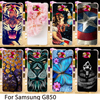 TAOYUNXI Plastic Soft Cases For Samsung Galaxy Alpha G850F G850T G850M G850FQ G850Y Galaxy Alfa G850 G8508 Cover Back Animal