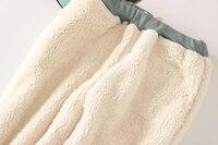 Winter Fleece Warm Women Harem Pants 2017 Big Size Elastic Waist Leisure Thicken Sweatpants Full Length 9 Color Loose Trousers 3