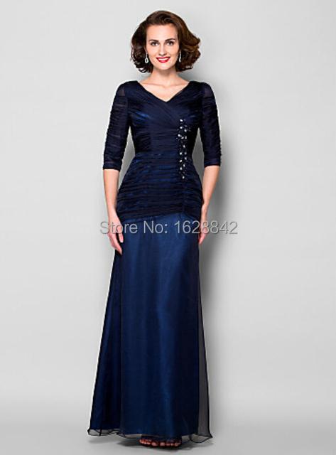 Madre de la novia vestidos de azul real vestido de madrina Plus el tamaño de la madre de la novia vestido de 2016 vestido párr mae da noiva