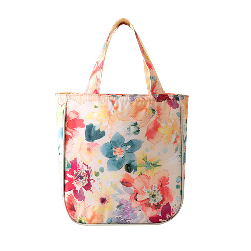Flowers Food Picnic Lunch Bag for Women Kids Cooler Bag Refrigerator Thermo Bags Thermal Waterproof Portable Insulated Ice Pack