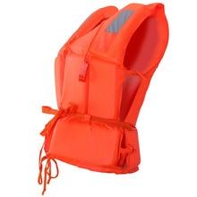 1 шт., универсальный спасательный жилет для детей и взрослых, куртка для плавания, пляжа, на открытом воздухе, спасательный жилет для детей со свистком