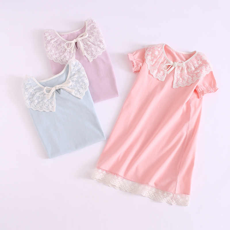 87dd96995f04 ... toddle girl nightdress princess dress children pajamas nightgowns for  girls kids night dress girl lace sleeping