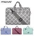 MOSISO Canvas 11.6 13.3 15.6inch Laptop Shoulder Bag Case For Macbook Pro Air 11 13 14 15inch Asus/Notebook Handbag Cover Female