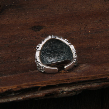 Dropshiping Odin Symbol Norse Viking Runes Rings For Men Runic 2