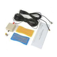 LW1650 długi przewód 1.6 50MHz HF antena do RTL SDR USB tuner odbiornik + Connecto