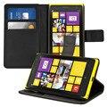 Pu couro caso do telefone móvel design suporte flip estilo carteira com slot para cartão de celular acessórios de proteção para nokia lumia 1020
