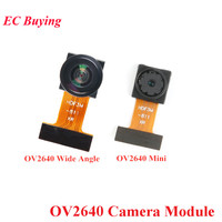 OV2640 Camera Module 1/4 CMOS Image Sensor SCCB Interface JPEG With 140 Degree Wide Angle 200W Lens/Fish-eye Lens For Arduino