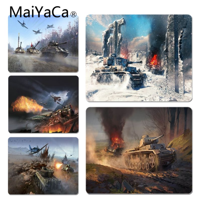 MaiYaCa War Thunder Customized laptop Gaming mouse pad Size for 20X25cm and 25X29cm Gaming Mousepads