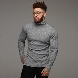 New Fashion Winter Sweater Men Warm Turt