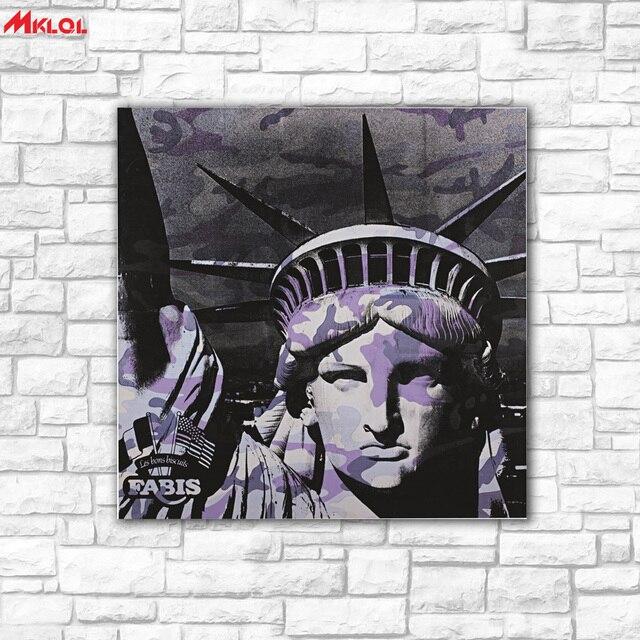 Kunst Victory Gottin Olgemalde Wandkunst Bild Paiting Leinwand