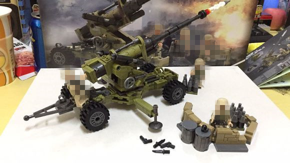 Genuine 350Pcs Military Series The Scorpion Cindy Cannon Set XINGBAO Building Blocks Bricks Educational boys girls gift cindy