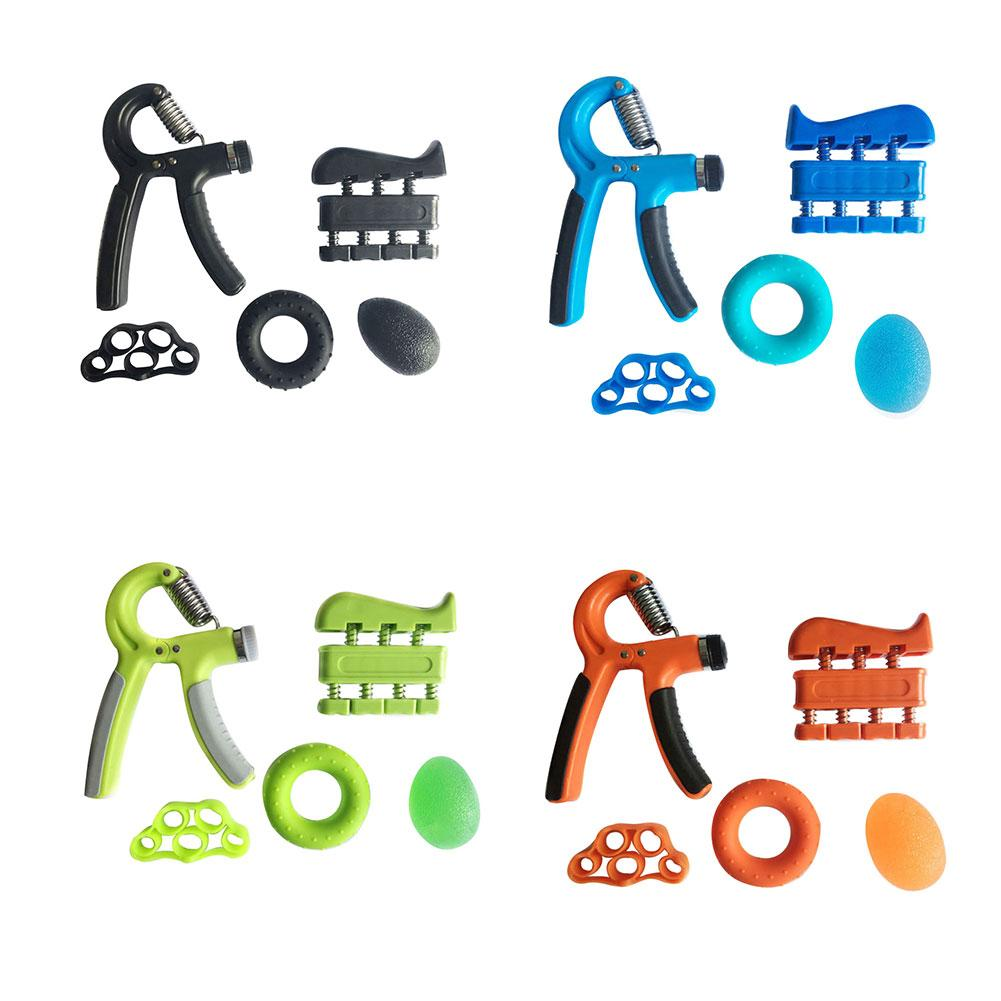 Hand Grip Strengthener Forearm Grip Fitness Workout Kit Rock Climbing Golf Tennis Bodybuilding Guitarist Drummer Pianist Grip image