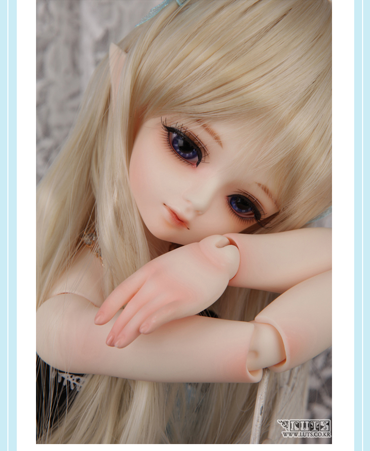 luodoll BJD doll SD doll 1/4 girl luts hodoo bjd doll gift (free eyes + free make up) luodoll 4 points bjd doll sd doll male baby luts kid delf bory joint dolls free eyes free make up