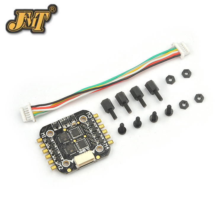 Super_S F4 Flight Controller Board Built-in Betaflight OSD and 6A 4in1 ESC for Indoor Brushless FPV Racing Drone