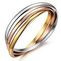 Korean fashion joker stainless steel bracelets bangles for women Seamless exquisite luxury brand eternal love bracelet lot