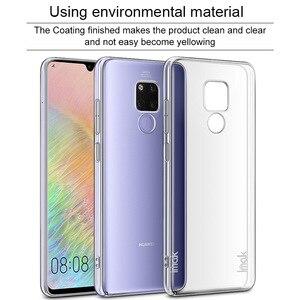 Для Huawei Mate 20 X Чехол IMAK Прозрачный износостойкий ПК Жесткий Чехол для Huawei Mate 20 X Кристальный чехол