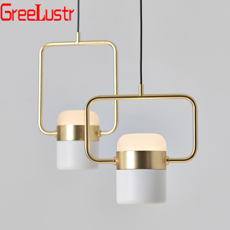 Nordic LED Pendant Lamp Acrylic Lampshade Suspension Lampara Adjustable For Kitchen Dining Room Chandelier Pendants Avize Lustre
