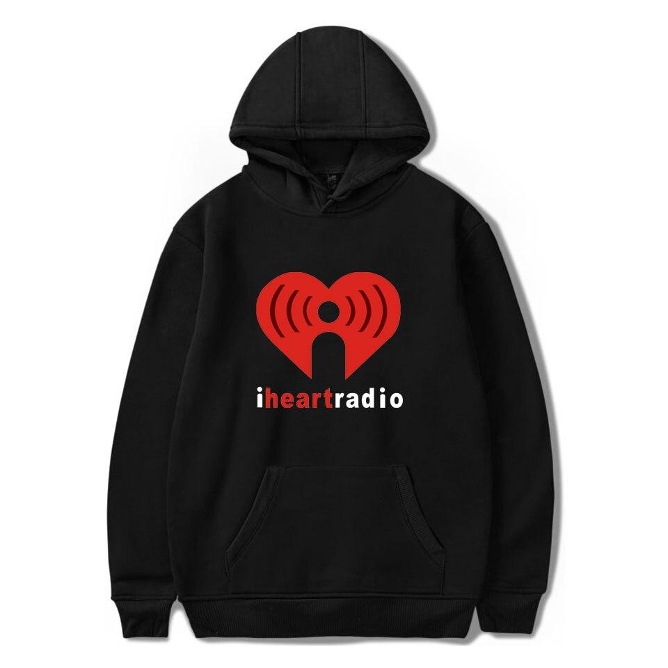 New Fashion Casual Pullover Hoodies Sweatshirts I Heartradio Hoodies Long Sleeve Creative Hoodies XXS To 4XL
